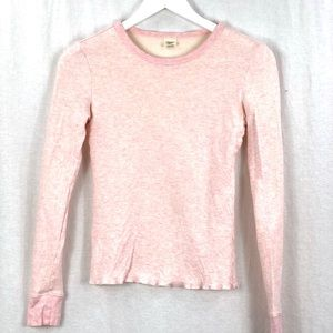 ⭐️ 5/$30 AE thermal long sleeve (heather pink)